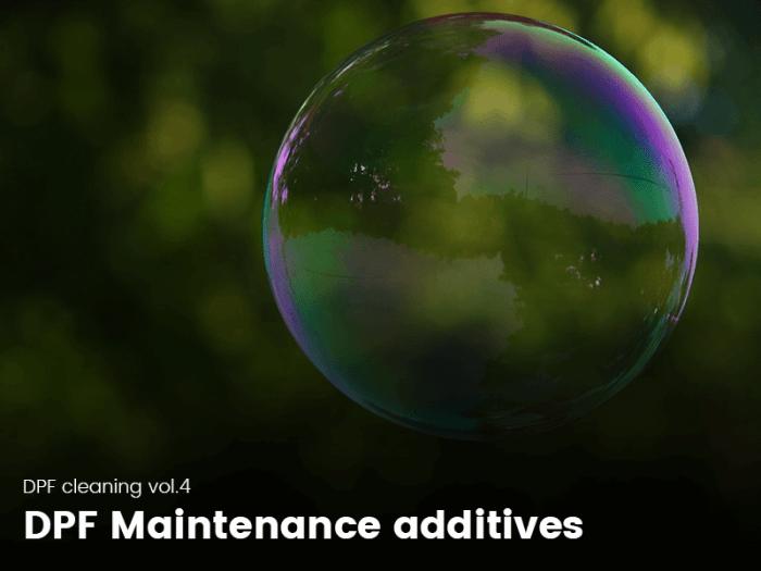 Soap bubble representing a clean DPF