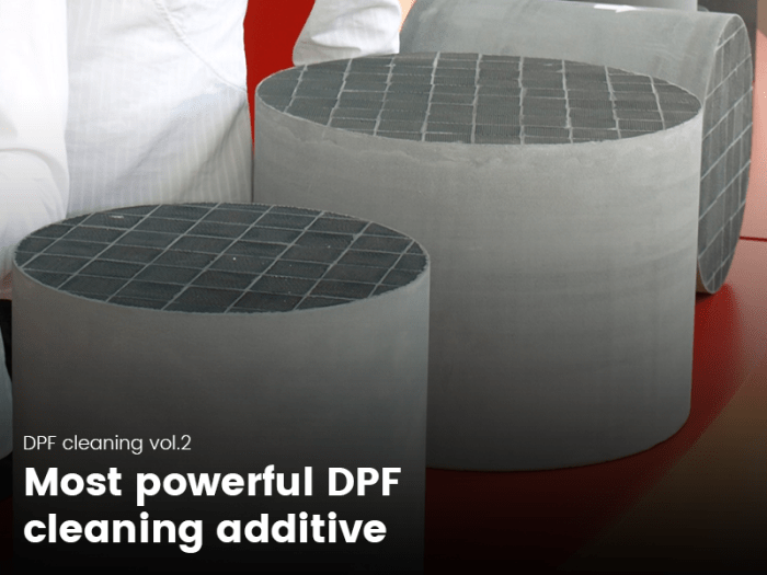 Most poweful DPF cleaning additive
